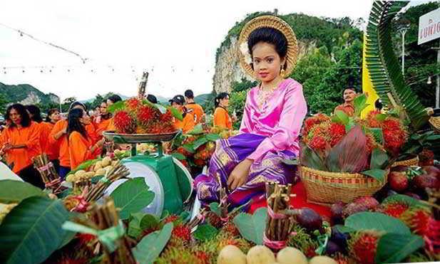 какие фрукты в Тайланде