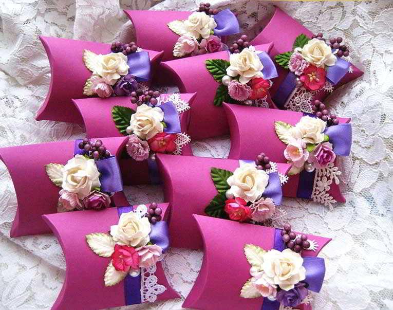 Подарки гостям на свадьбу от молодоженов