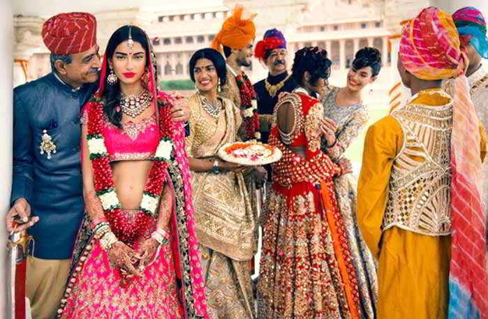одежда индийская