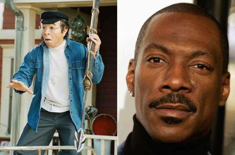 актер черный