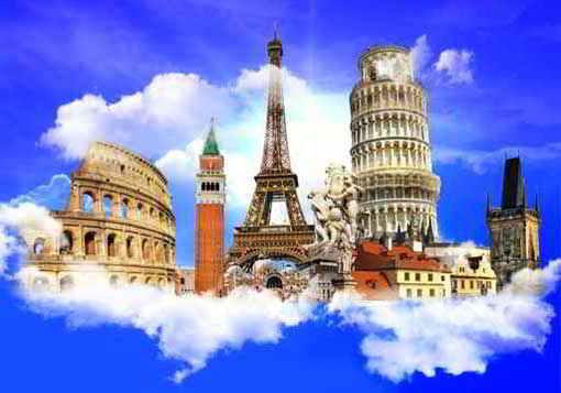 Страны Европы для путешествий