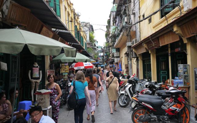 старинный квартал вьетнама