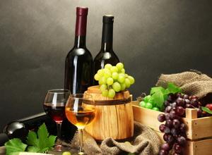 красное вино, виноград