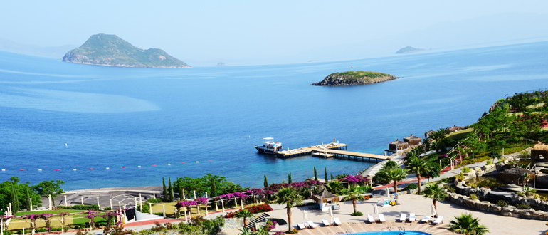 Русские на курорте Турция