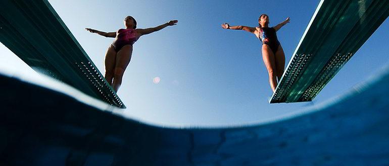 прыжки в воду что это