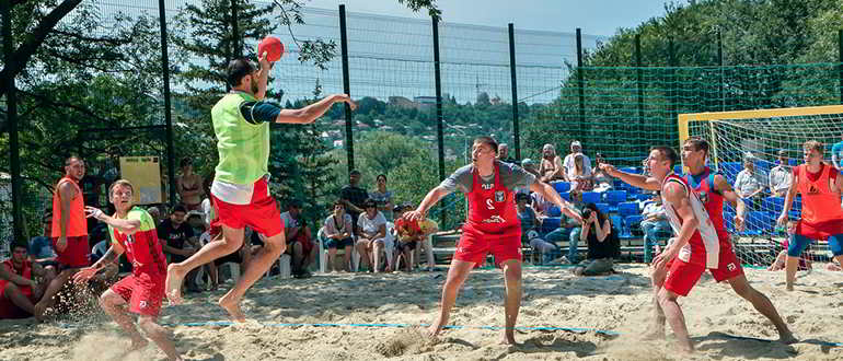 пляжный гандбол что это