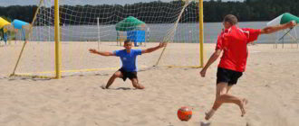пляжный футбол что это